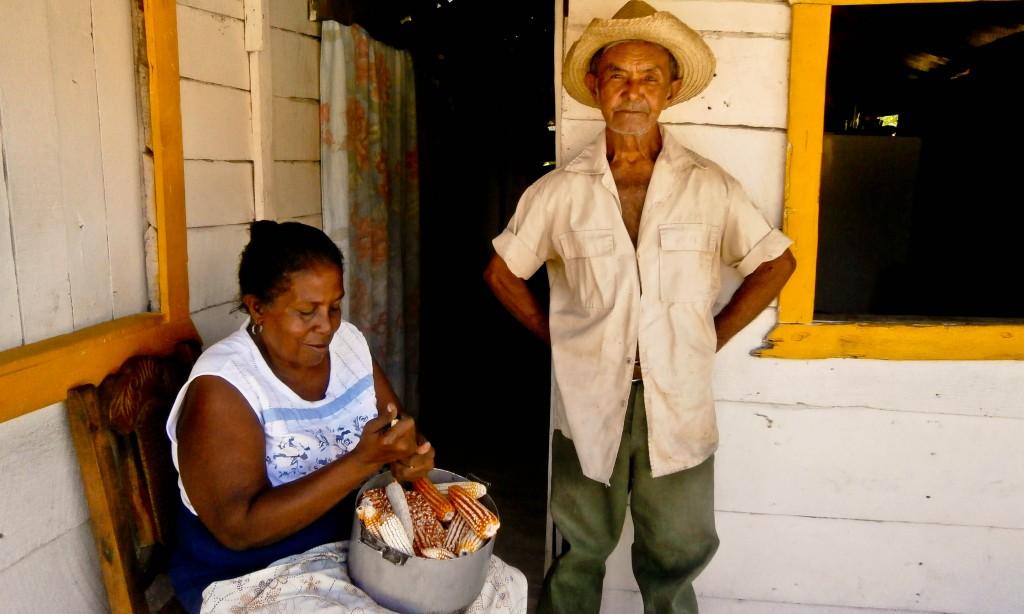 En Los Chivos conoció a Celeste, su esposa (Foto: Liliana Sierra)