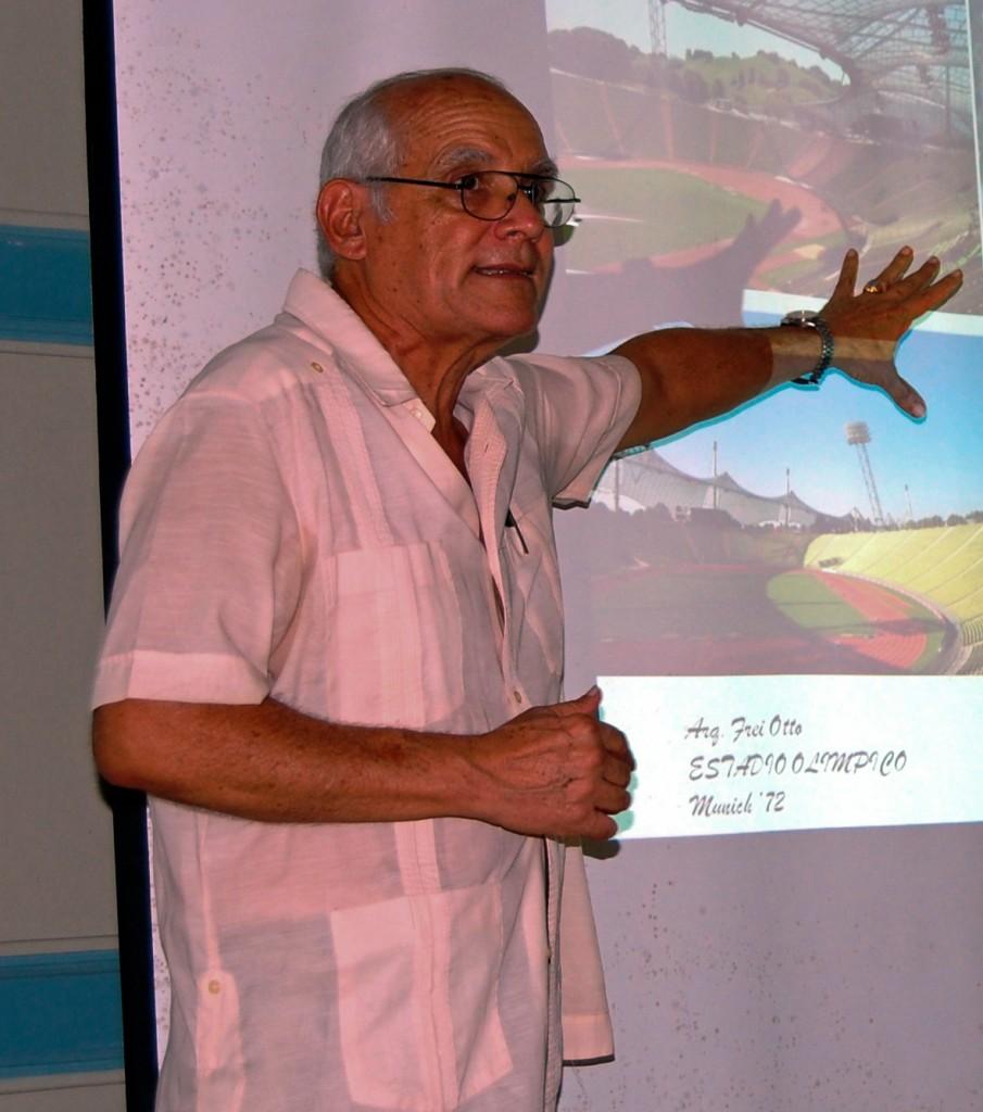Humberto Ramírez, presidente de la Sociedad de Arquitectura de La Habana (Foto: Tomás Ernesto Pérez)
