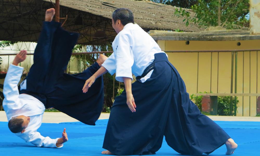 Exhibición de artes marciales en Cojímar (Foto: Tomás Ernesto Pérez)