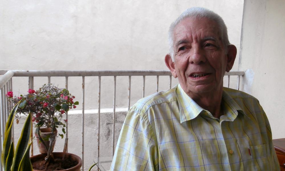 Florentino Chacón (Foto: Julio Batista)