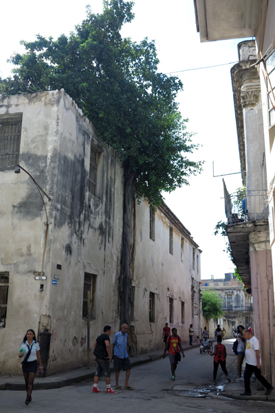 La Habana Vieja que no es patrimonio de la Unesco (Foto: Mónica Baró)